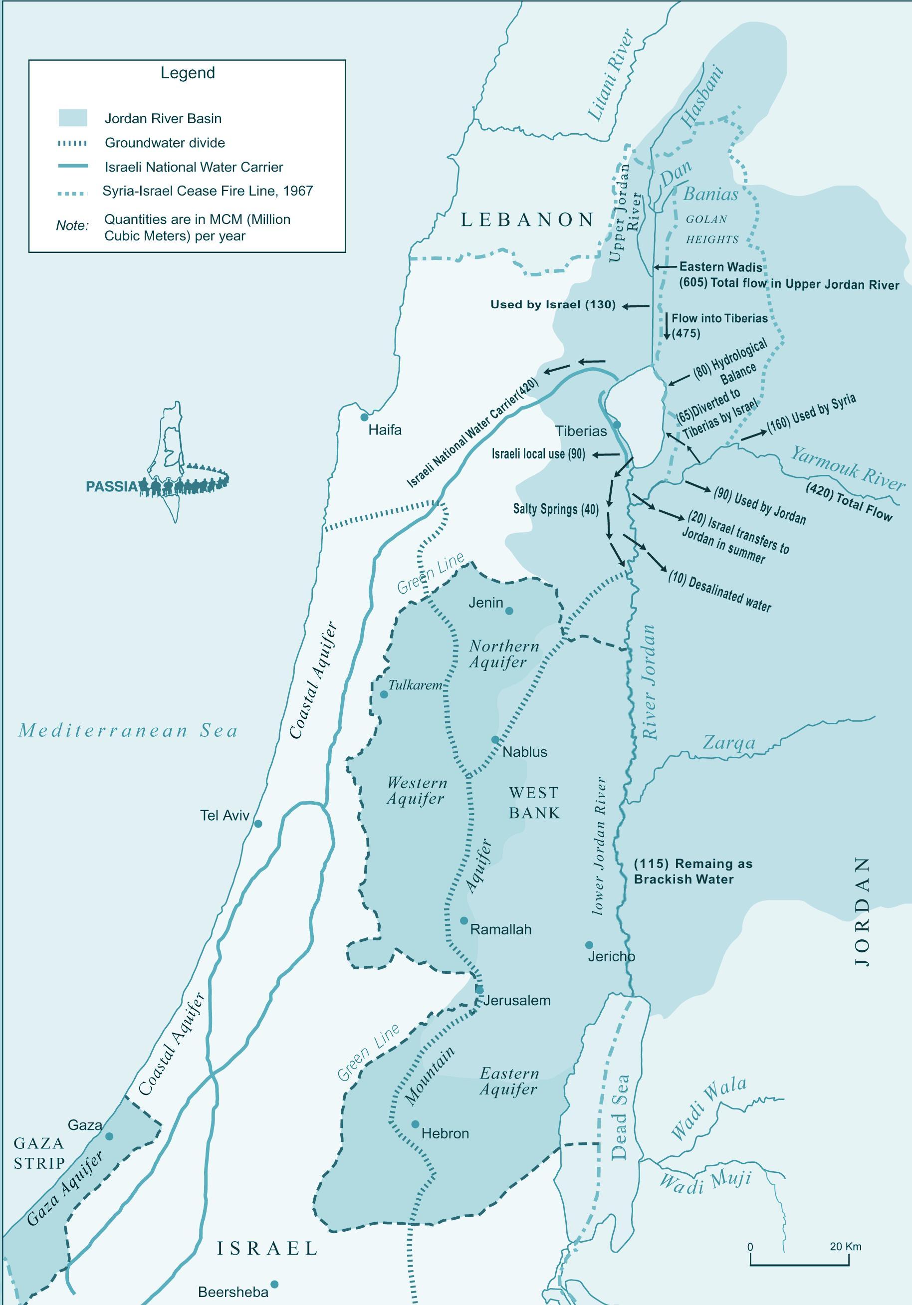 Israel Karte.Israel River Karte Karte Von Israel River Western Asien Asia